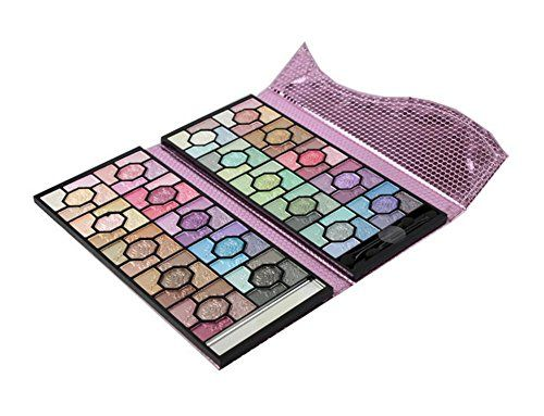 100 color eyeshadow Pan double rose glossy makeup eye shadow box -- This is an Amazon Affiliate link. See this great product.