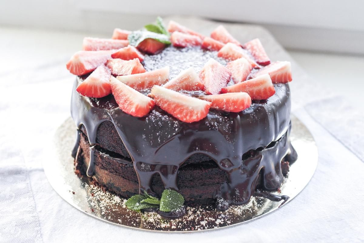 Раз два три торт без какао