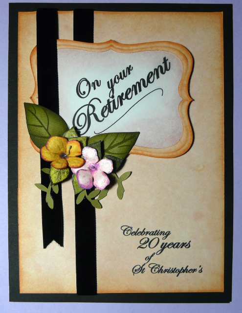 Retirement card by shoshi diy cards pinterest retirement retirement card by shoshi m4hsunfo