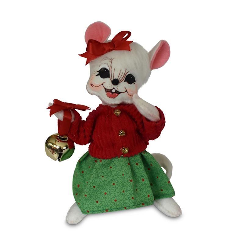 Annalee 3in Jinglebell Mouse in Mitten