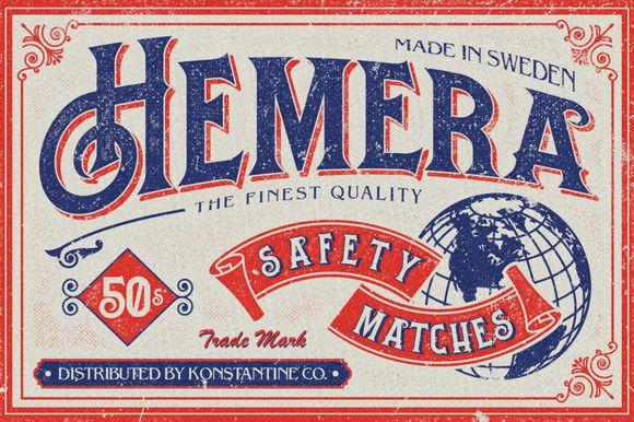 Hemera Typeface by konstantinestudio on Creative Market