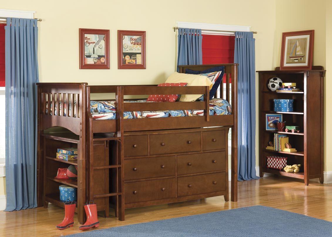 Pin by Macie Koreiva on DIY toddler Low loft beds