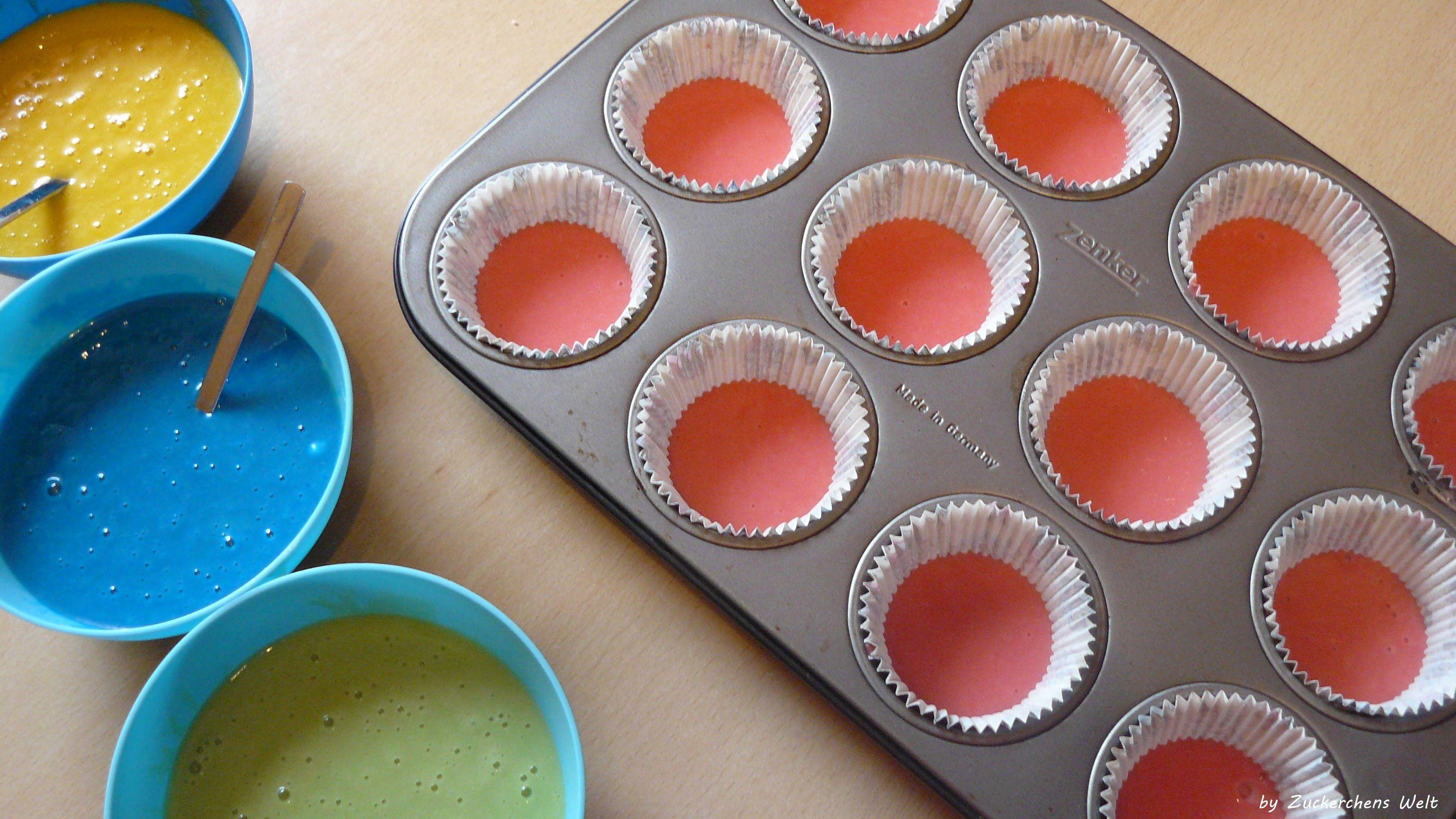 Aus Farben werden Muffins | Kunterbunte Küche | Pinterest