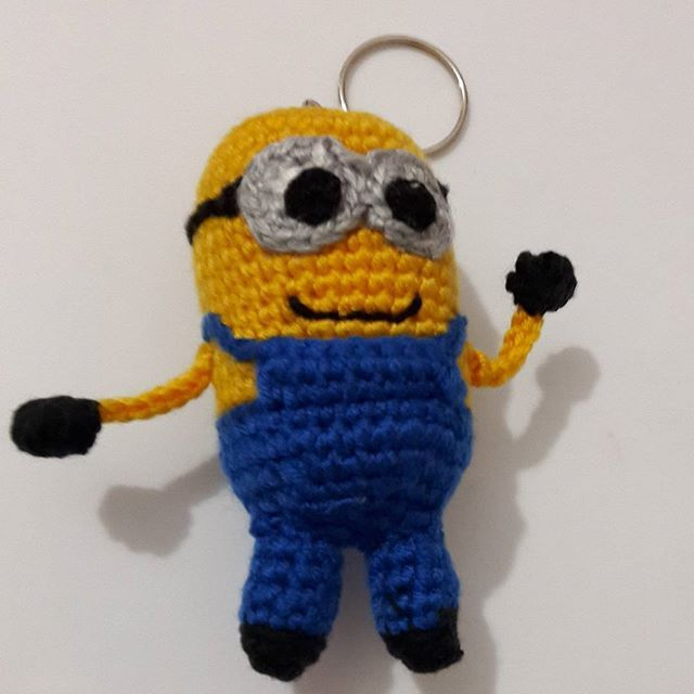 Evet Bu Sefer Minion Kucucuk Anahtarlik Oldu Herkese Hayirli