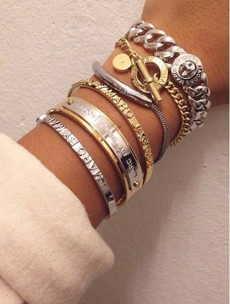 Loving the new Marc by Marc Jacobs bracelets!!!   Marc Jacobs ... d452ae5f1450
