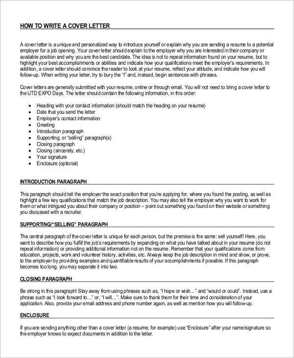 Sample Cover Letter Introduction Examples Pdf Company Templates  Cover Letter To A Company