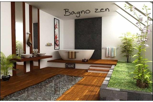 BAGNI BAMBOO PIETRE E ARANCIO - Cerca con Google | Varie ...