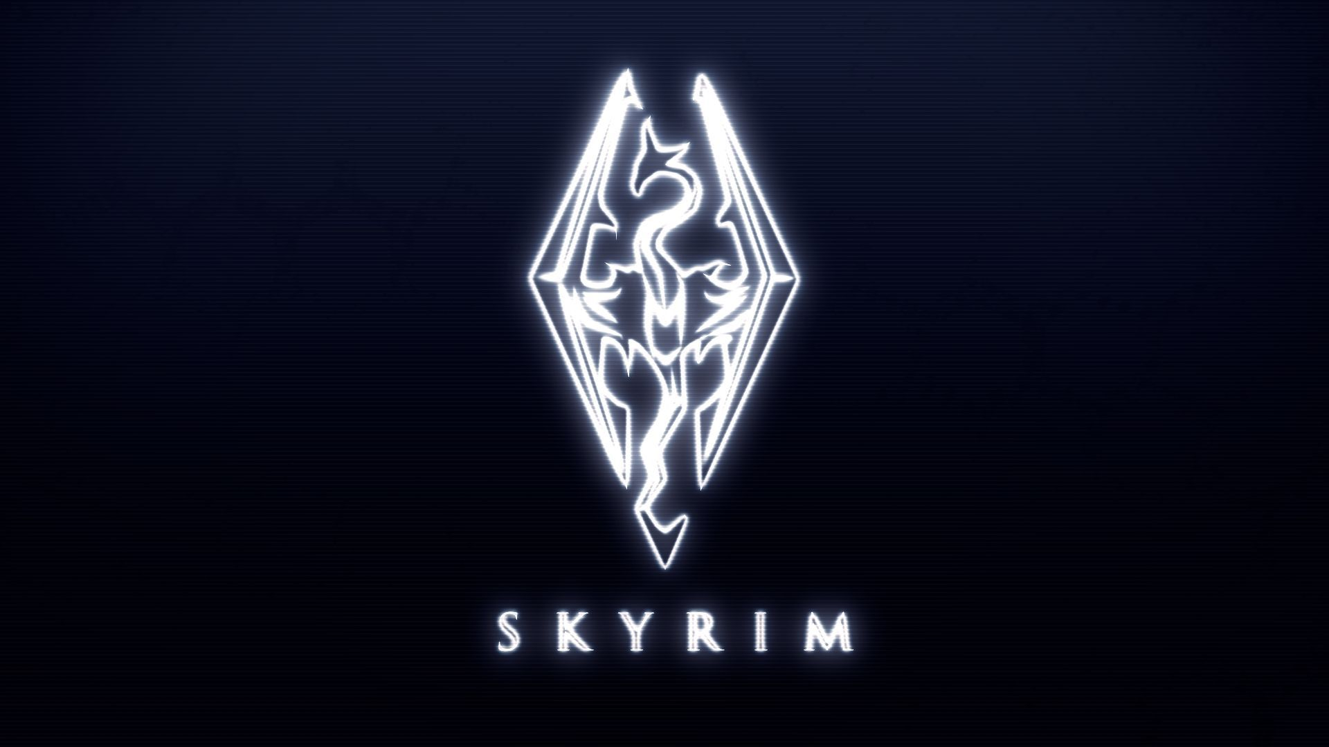 Skyrim Logo Wallpapers Top Free Skyrim Logo Backgrounds Wallpaperaccess Skyrim Elder Scrolls V Skyrim Hd Wallpaper