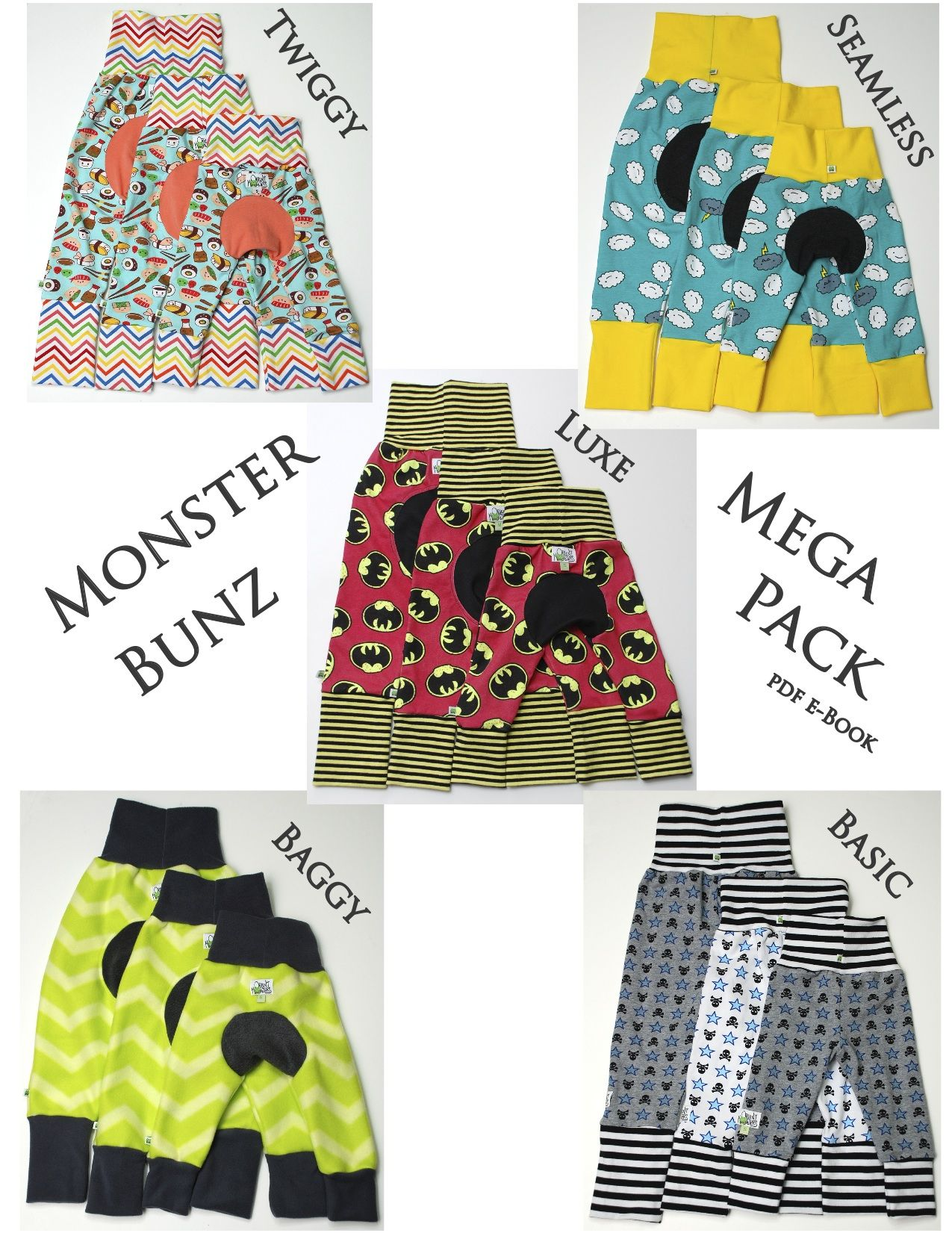 Monster Bunz Mega Pack | BABY!!! | Pinterest