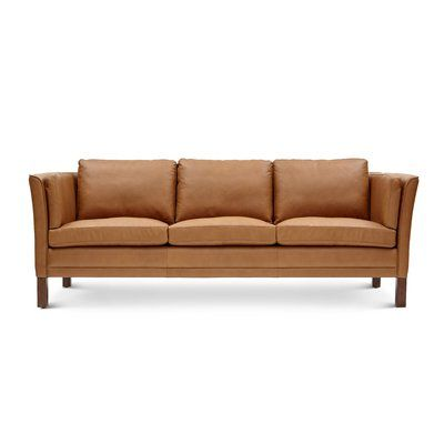 Surprising Luther Mid Century Modern Vintage Leather Sofa In 2019 Theyellowbook Wood Chair Design Ideas Theyellowbookinfo
