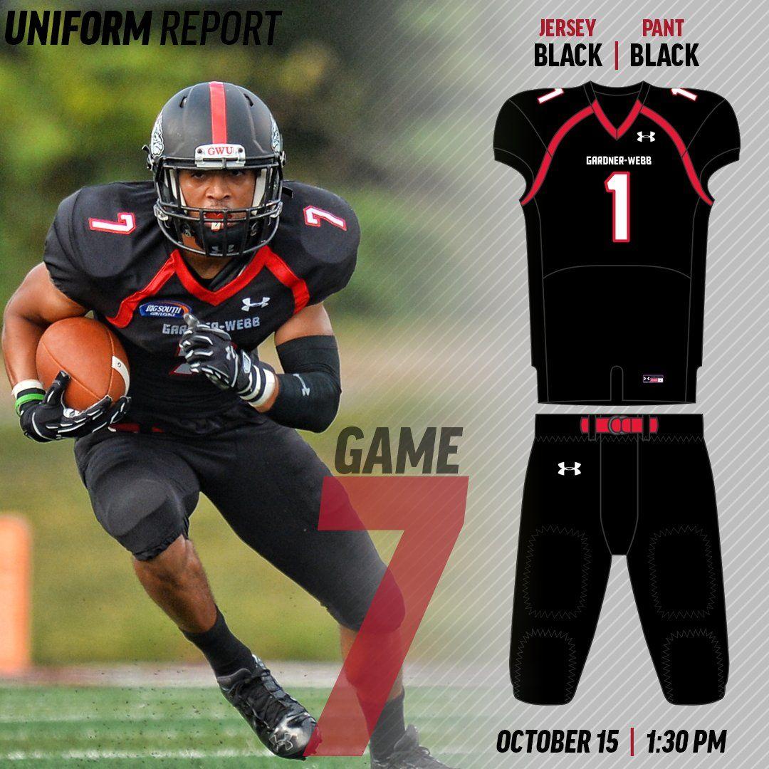 Gardner_Webb Football helmets, Gardner webb, Uniform