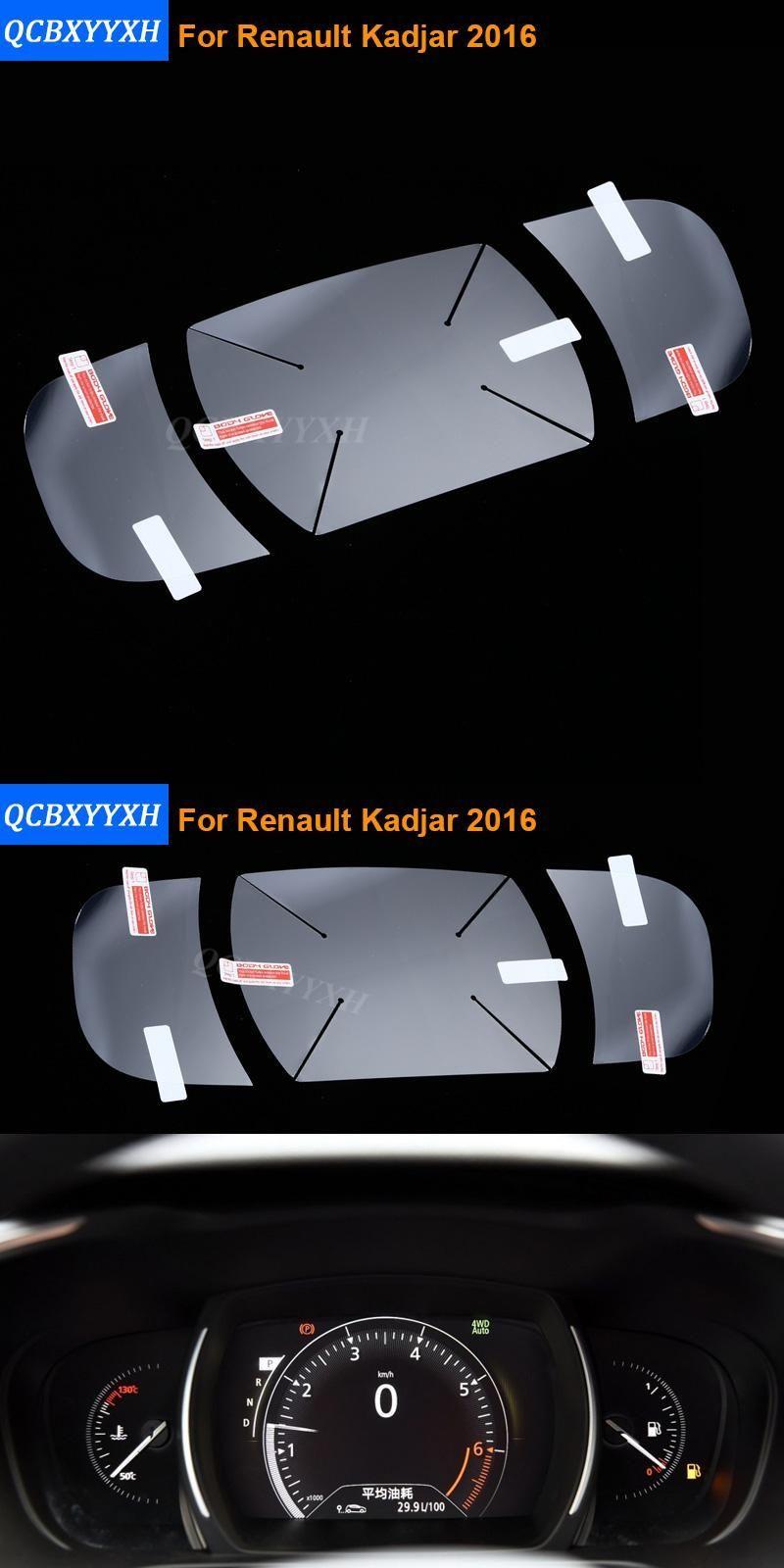 Car Styling Auto Armaturenbrett Lackschutzfolie Pet Fur Renault