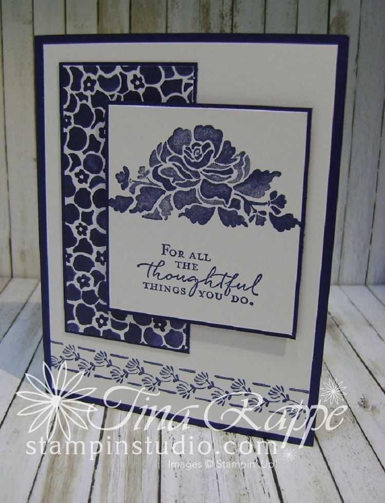 Tina Rappe, Independent Stampin' Up! Demonstrator