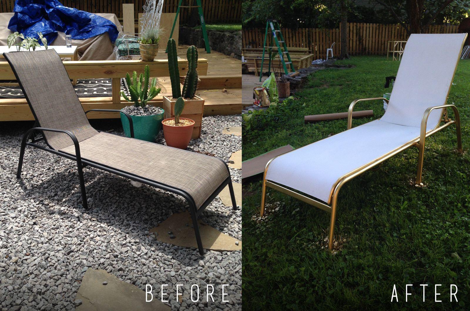 Diy Painted Lounge Chairs Pool Lounge Chairs Lounge Chair Outdoor Outdoor Lounge