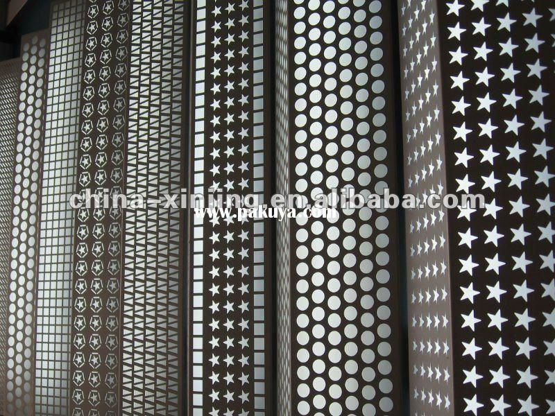 Perforated Metal Wall Panel/covering/cladding(ISO9001,CE). Decorative ...