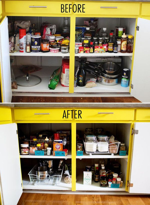 How To Decorate And Organise Your Shared House Food Storage Kitchen Cupboards