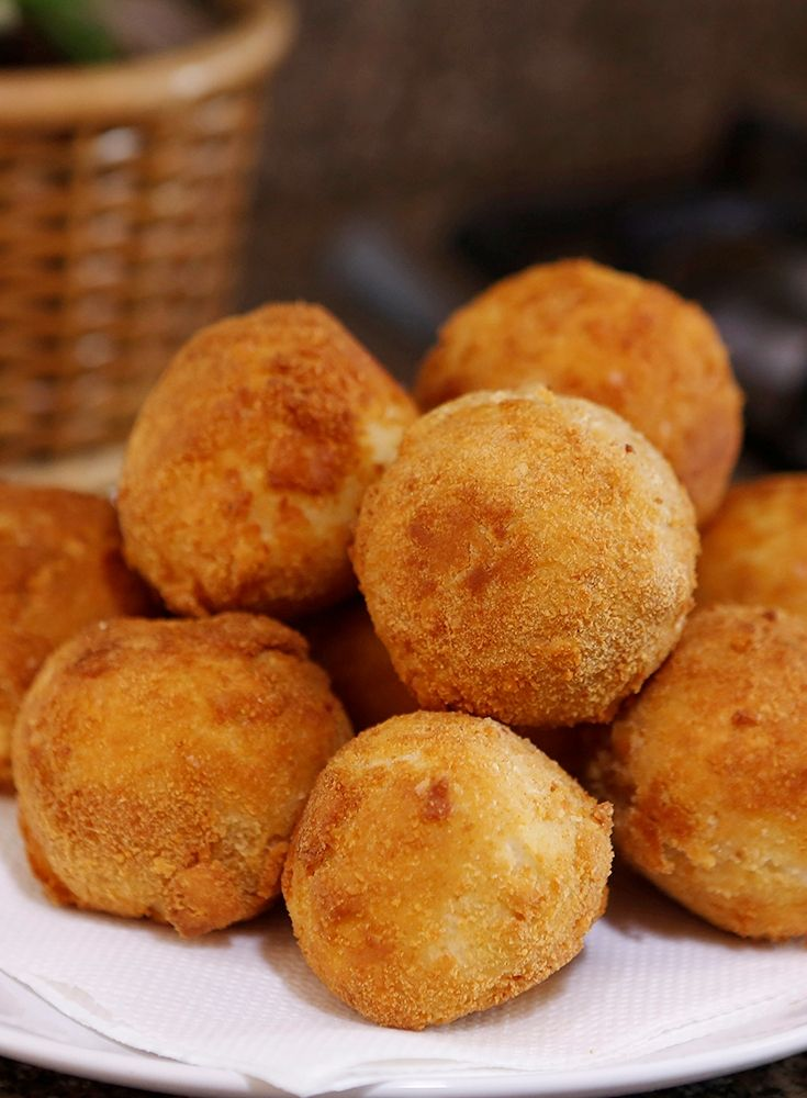Stuffed Fried Mashed Potato Balls Recipe With Images Food