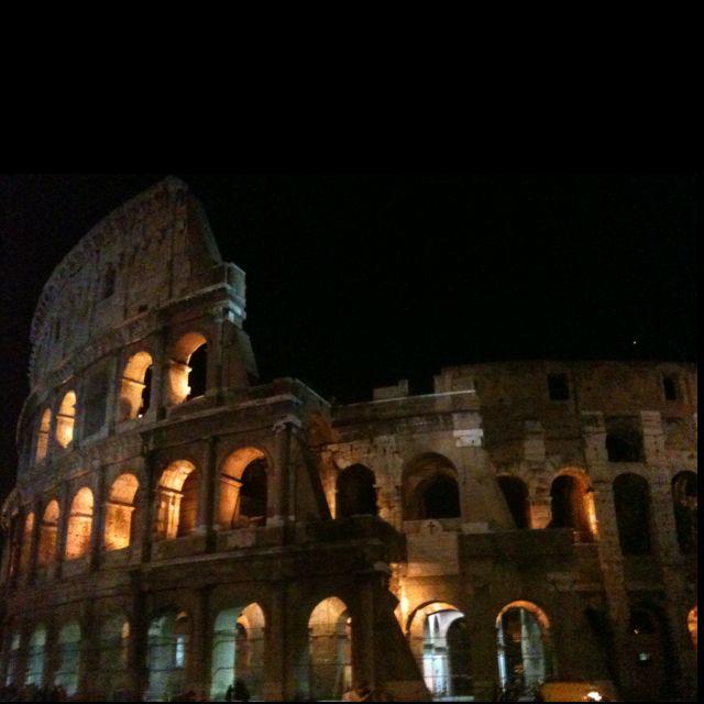 Coliseum- Rome, Italy