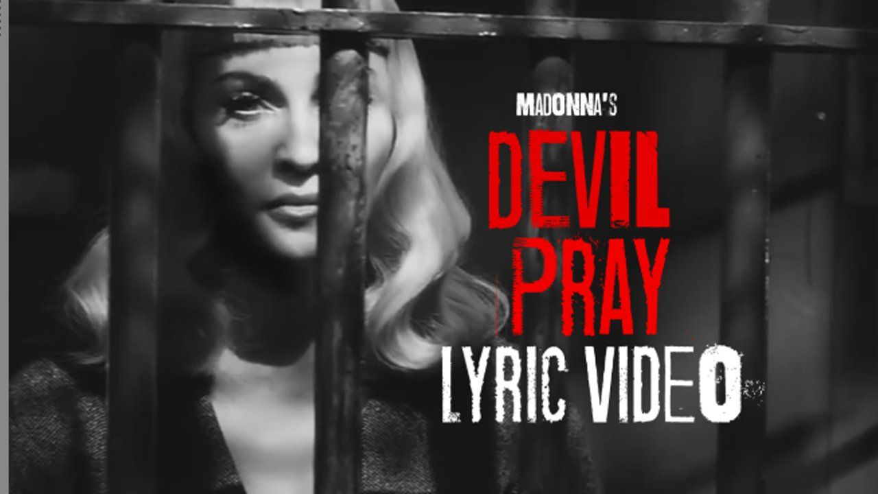 "I made this lyric video to show support and love to madonna. Hope you like it.  original video: secret project video editing: rafael froner song: ""devil pray""…"