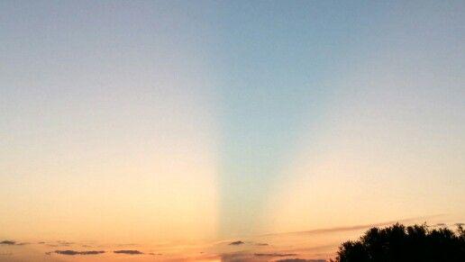 Sunday's sunset.  5/3/15. Wickenburg,  AZ.