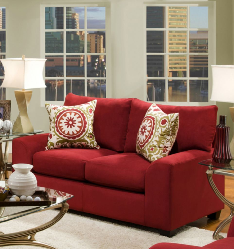 for vizmini updating room and milo loveseats red lounge attractive baughman living patio swivel ideas by round loveseat