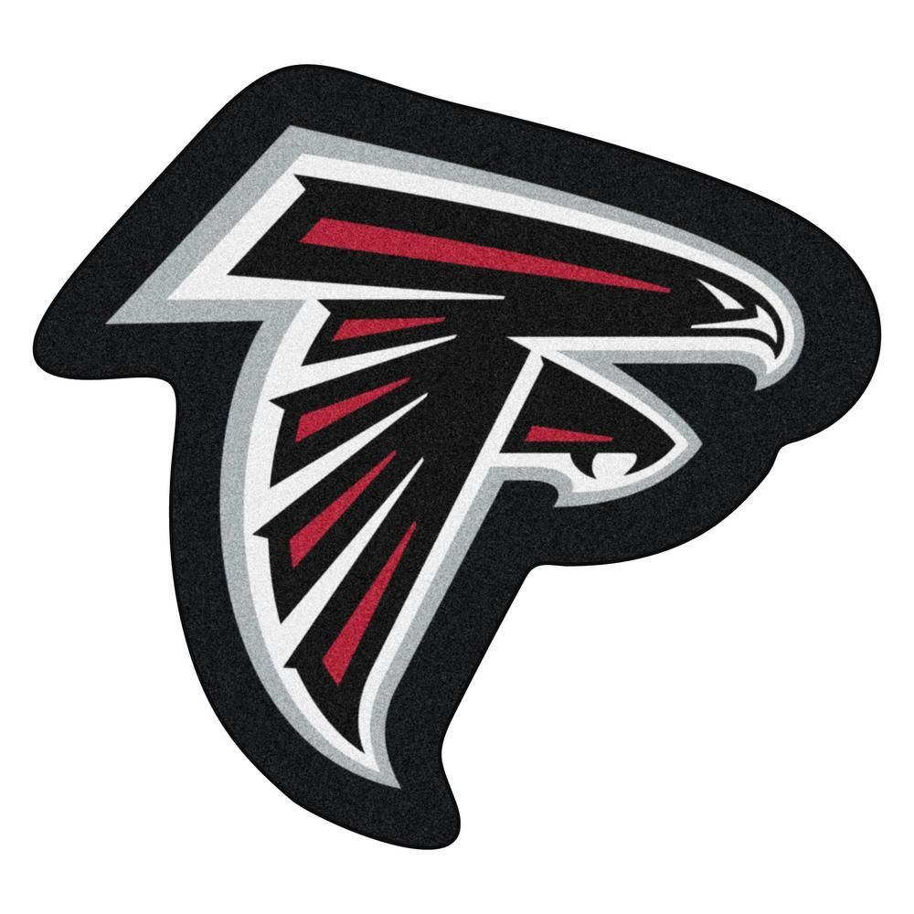 Fanmats Nfl Atlanta Falcons Mascot Mat 36 In X 33 3 In Indoor Area Rug 20961 The Home Depot In 2020 Atlanta Falcons Logo Atlanta Falcons Atlanta Falcons Vinyl