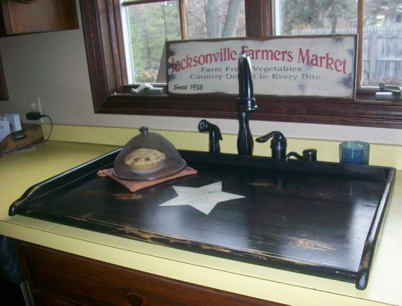 Attractive MY SINK TOP COVERS ARE MADE FROM THE MOST EXPENSIVE WOOD YOU CAN BUY