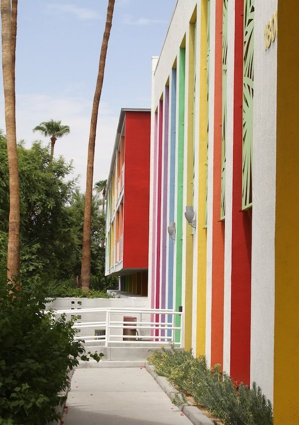 Palm Springs Coloreveryday Color Story Pinterest