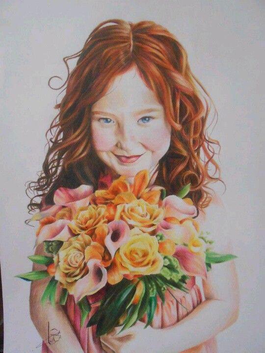 Arte feita pela minha talentosissima amiga Tamara Gonçalves Lopes com lapis de colorir comum...