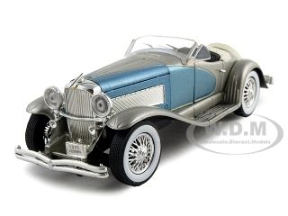 1:32 Scale 1935 SSJ Duesenberg Diecast Model Classic Car By Signature