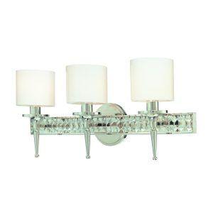 Crystal Vanity Lights For Bathroom  Httpwlol  Pinterest Simple Crystal Vanity Lights For Bathroom Inspiration Design