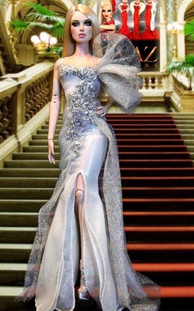 Barbie Evening Gowns | MUÑECAS - FABULOSAS FOTOS. | Pinterest