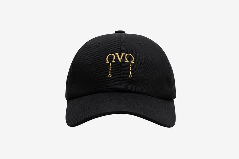 Men s   Women s October s Very Own OVO Omega Gold Logo Adjustable Baseball  Dad Hat - Black a5a2e1fcb4cc