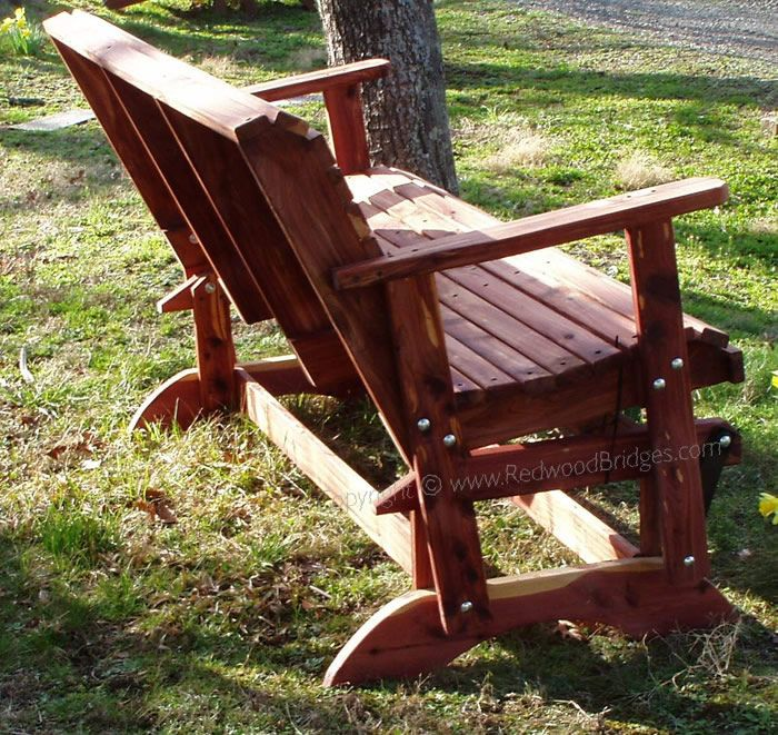 Garden Slider Bench