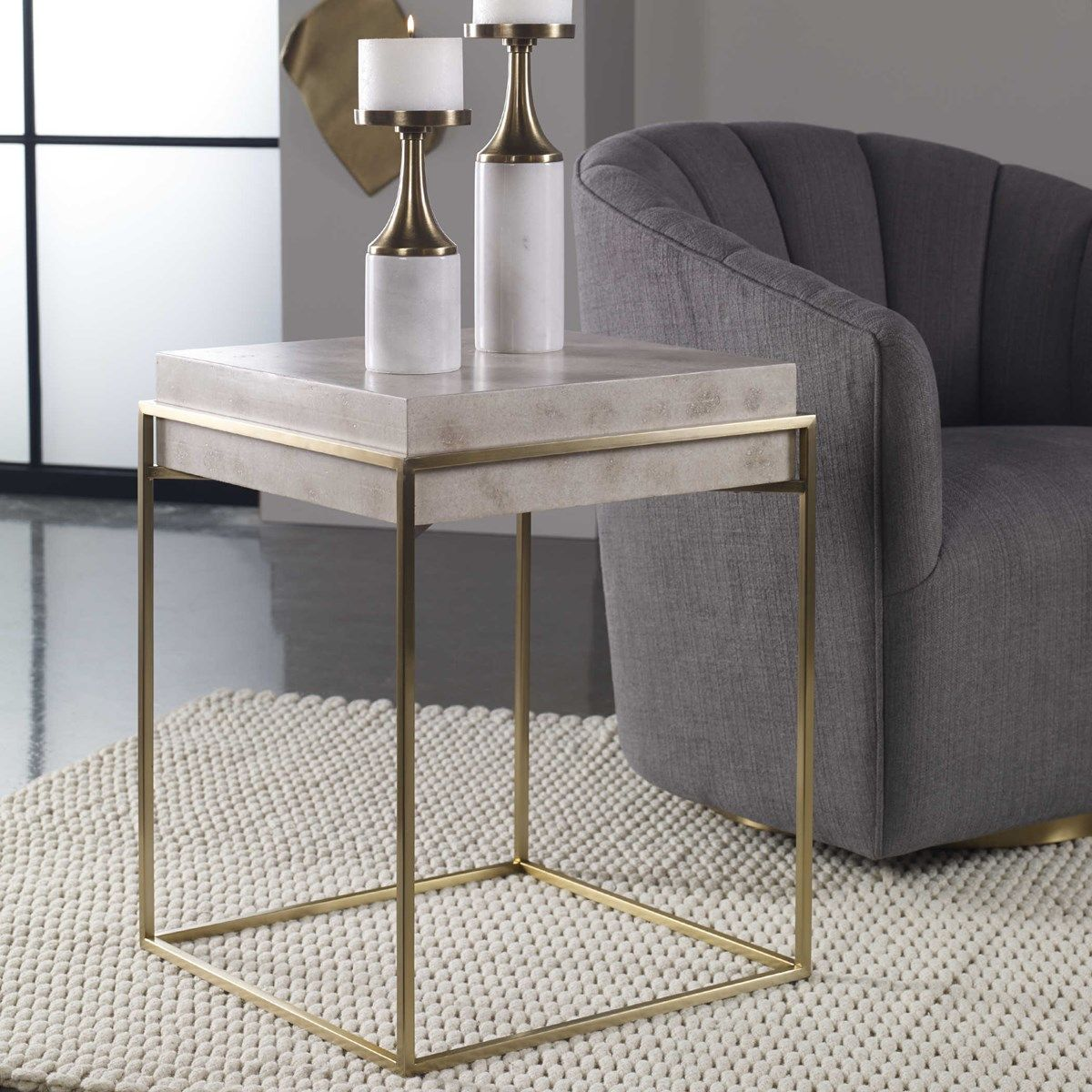 Inda Accent Table Uttermost Modern Accent Tables Accent Table Square Accent Tables Modern accent tables for living room