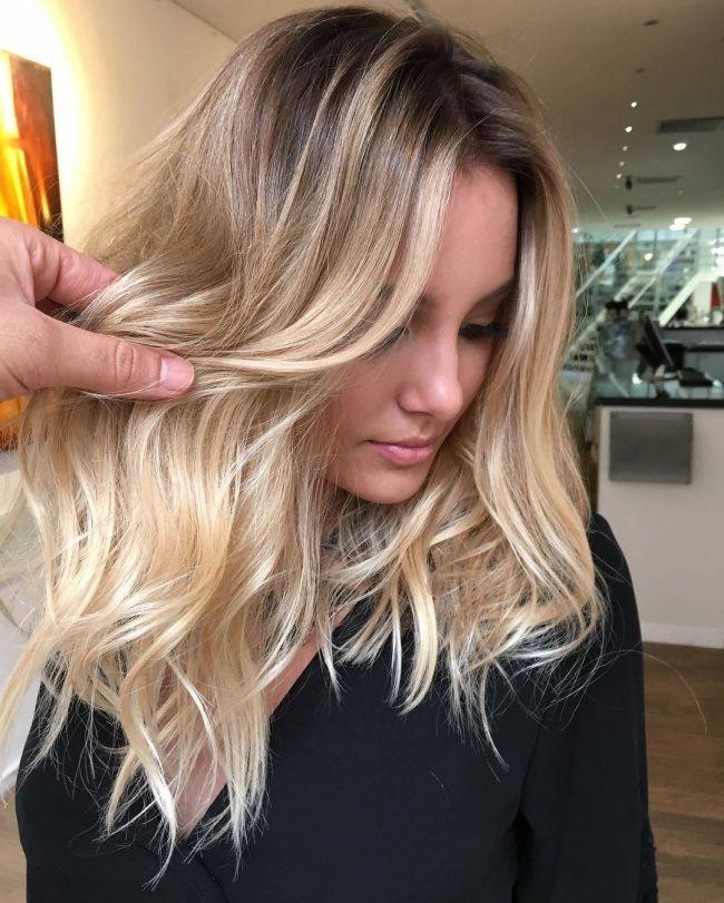 balayage blond   le charme dans 20 mod u00e8les inspirants