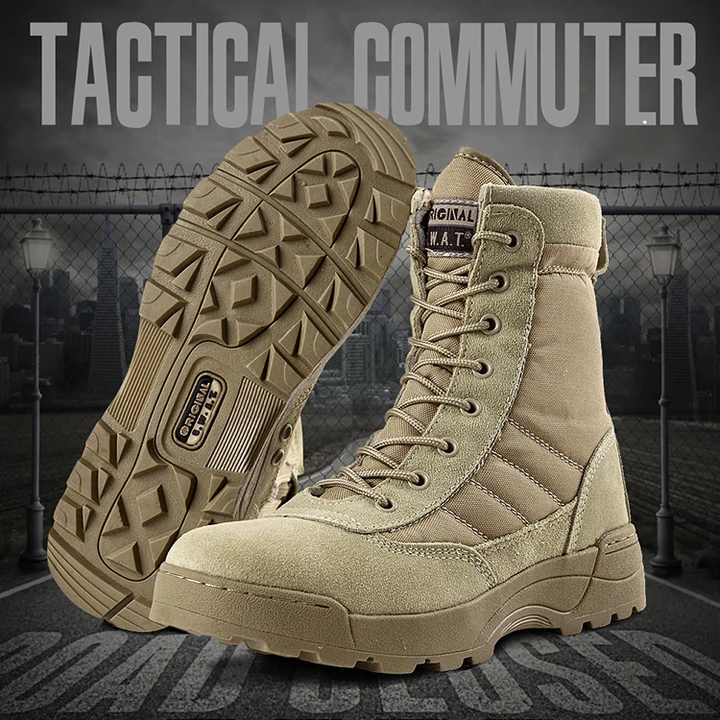 Archon Outdoor Military Combat Boots Lightweight Waterproof Tactical Boots In 2020 Tactical Boots Military Combat Boots Military Tactical Boots