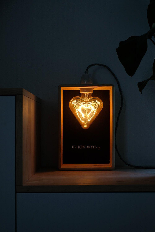 DIY LED Leuchte in Herzform als Geschenk zum Muttertag   Lampen ...