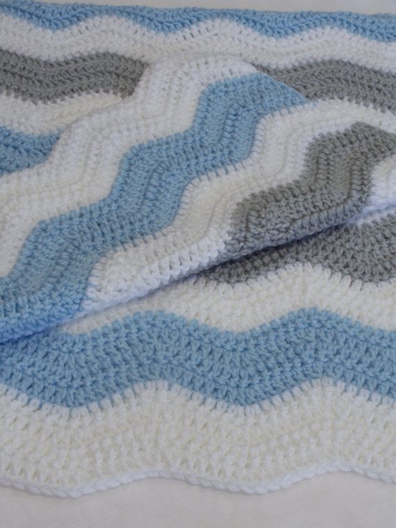 Crochet Baby Blanket Chevron Pattern By Magnoliababycrochet Best