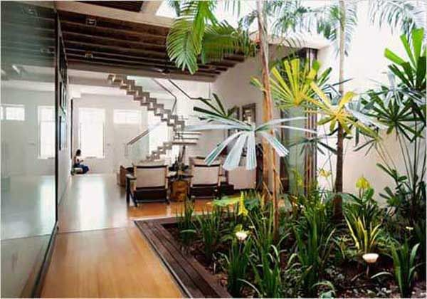 jardin intérieur design - Recherche Google | jardin | Pinterest ...