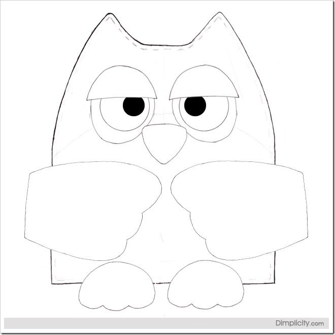 owl pattern - Google Search | Moldes | Pinterest | Owl pillow ...