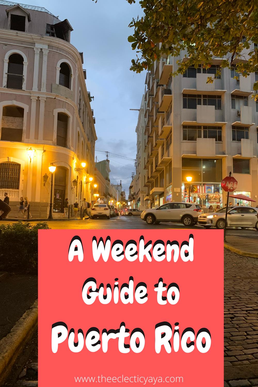 #vacation #travel #puertorico #oldsanjuan #weekendgetaway