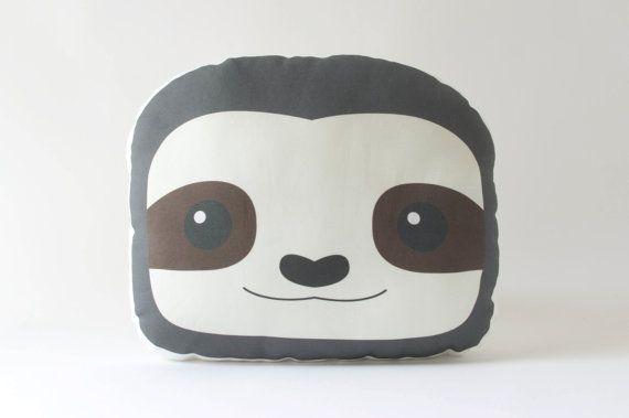 Faultier Kissen Plüschtier gefüllte Sloth von DearVioletShop ...