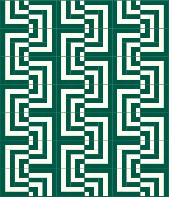 Lets Quilt Something: Glitch - Free Quilt Pattern - Yardage or Jelly Rolls