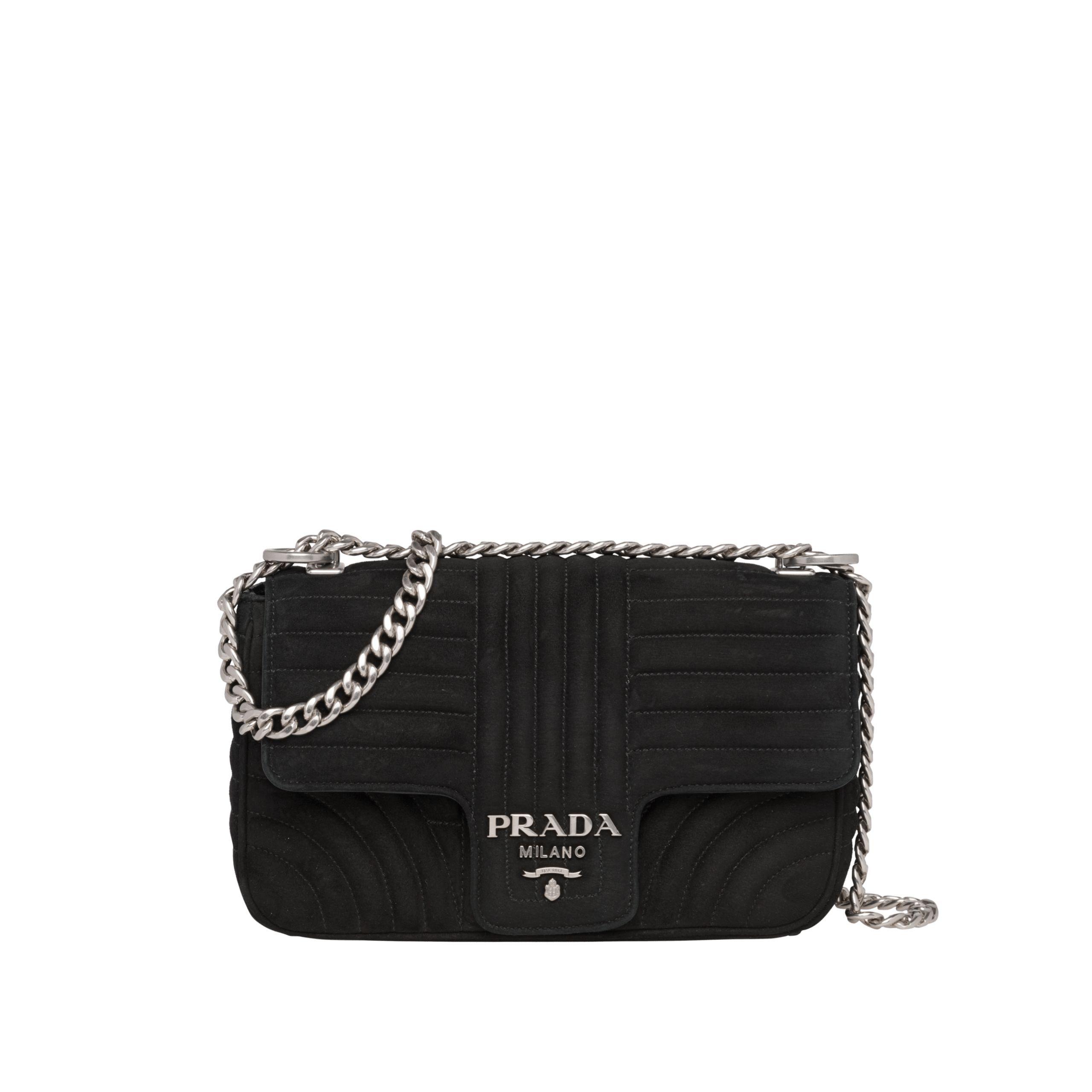 e014596cd41 Diagramme suede bag in 2019   Prada   Bags, Prada, Shoulder Bag