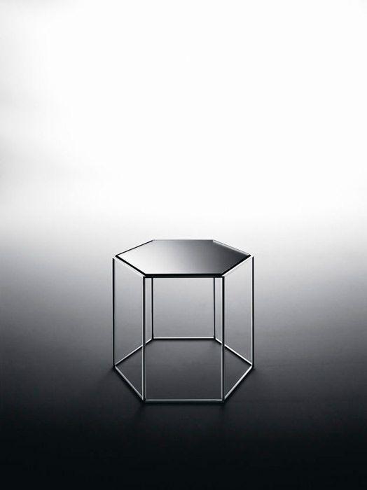 side table 'Hexagon Table' by Tokujin Yoshioka