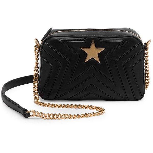 52796ebb63dd Stella McCartney Faux Leather Star Crossbody Bag ( 1