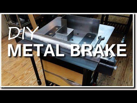 Diy Metal Brake For Bending Sheet Metal Youtube Metal