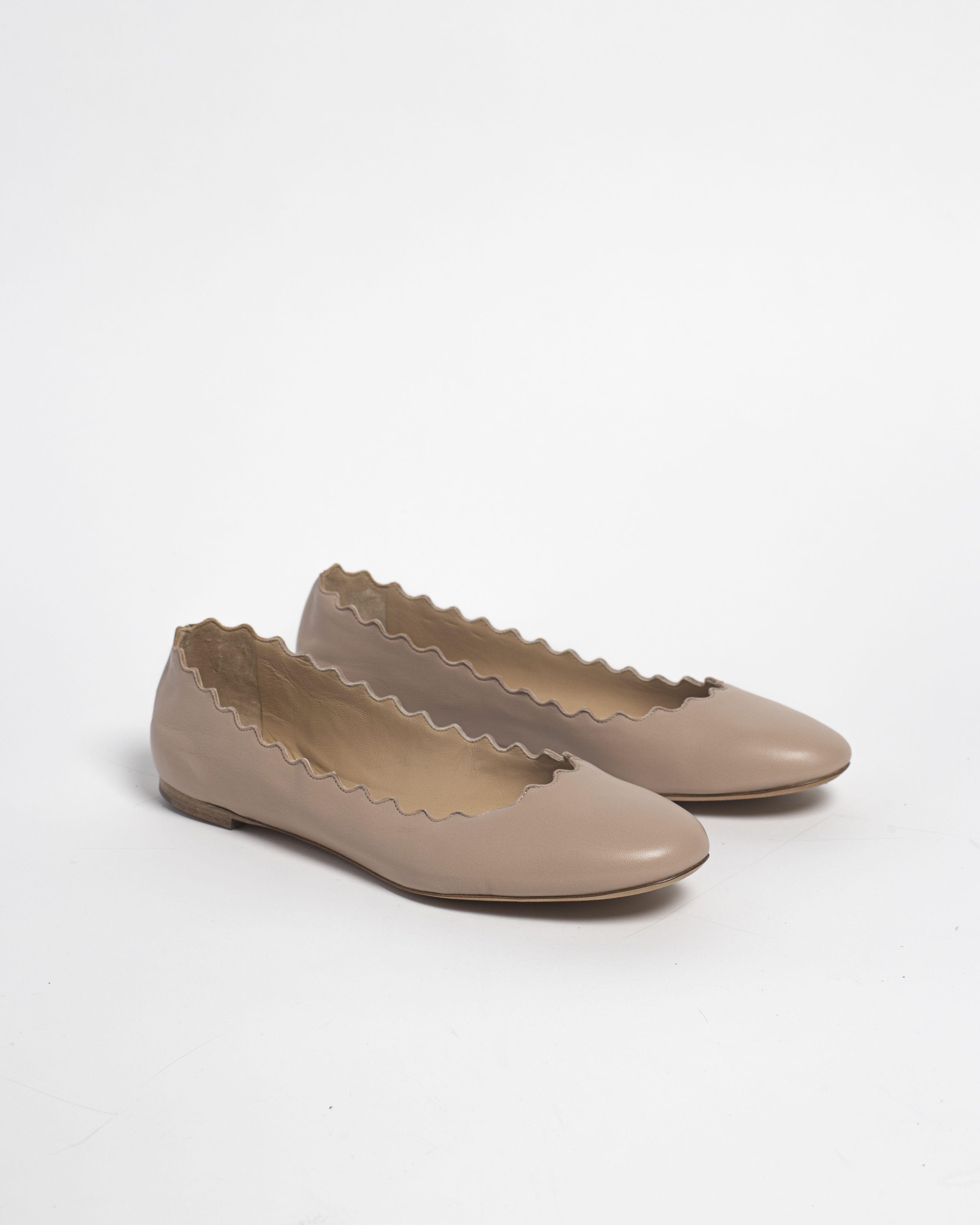 d1a4fc34d00 Chloé Lauren Ballet Flat - Pink Tea Ballet Flats