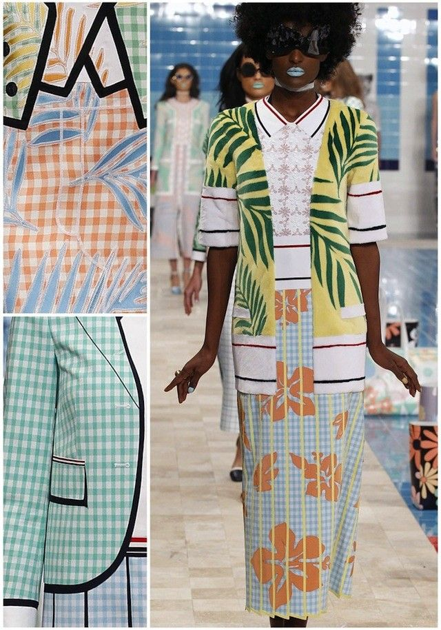 Patternbank on #WeconnectFashion. NYFW Spring 2017 - Thom ...